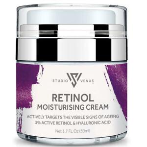 Retinol 3% Face Cream   Day and Night Serum   Anti-Ageing   Hyaluronic Acid