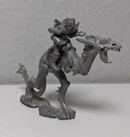 Land Dragon + Mount 3112 - Rafm Fantasy Miniatures - Dark Lord's Regiment Blood