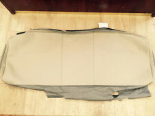 05-07 Ford F-250-550 Factory Original REAR Seat Back Cover (Tan Leather)