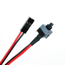 ATX Ordinateur PC Carte mère Câble d'alimentation Interrupteur On/Off/Bouton Reset Remplacement