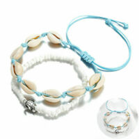 Jewelry Handmade Boho Shell Beads Anklet Beach Sea Sandal Bracelet Foot Ankle