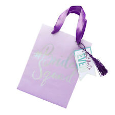 Bride Squad Hen Night Do Party Goodie Favour Bridesmaid Wedding Gift Bags 5 Pack