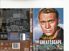 The Great Escape-1963-Steve McQueen-Movie-DVD