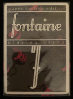 Fontaine Guess Cycling Edition Playing Cards