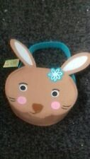 REDUCED SALES!...FELT Easter Egg Gift Basket..*NEW* VGC