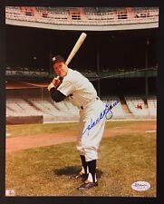 Hank Bauer Signed 8x10 Yankees Photo Auto Autograph JSA Sticker Coa