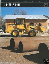 Equipment Brochure - John Deere - 444H 544H- Wheel Loader - c1995 (E2499)