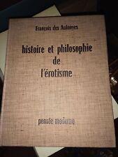 1958 HISTOIRE ET PHILOSOPHIE DE L'EROTISME
