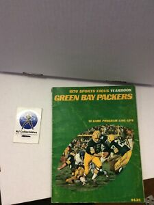 Green Bay Packers 1970 Yearbook Bart Starr Hof NFL Good Cond