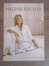 Helene Fischer original handsignierte Autogrammkarte / Musik T2