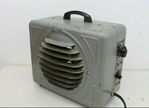 Vintage WORKING Markel Electric Portable Space Heater 120 Volts 1500 Watt Home