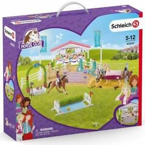 Schleich Horse Club 42440 Friendship Horse Tournament with Figures & Accessories