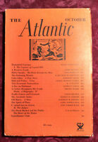 ATLANTIC October 1933 VIRGINIA WOOLF ANDRE MAUROIS