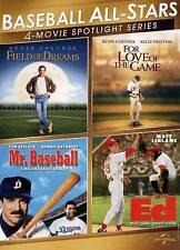 Baseball All-Stars: 4-Movie Spotlight Series (DVD, 2013, 2-Disc Set)