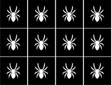 Spider Nail Art Vinyl Stencil Guide Sticker Manicure Hollow Template