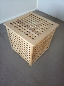 Side Table Coffee Table Solid Wood storage IKEA HOL 50cmx50cmx50cm