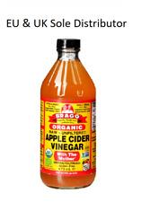 Bragg bio Vinaigre de cidre avec t la mère RAW-NON FILTRÉE 473 ml