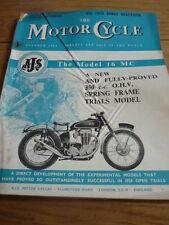 MOTOR CYCLE 10.10.55  BSA RANGE FOR 1956 jm