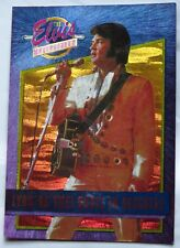 """ELVIS PRESLEY SERIES 2 FOIL TRADING CARD """"(YOU'RE THE) DEVIL IN DISGUISE"""" #35"""