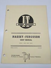 Massey Ferguson Shop Service Manual I&T Series Model mf230 mf235 mf245 repair