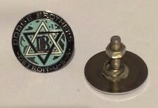 Dodge Brothers Detroit USA Medallion / Emblem Set of 2 With Mounting Studs