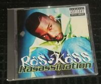 Rass Kass - Rasassination CD (missing back cover) rare hip hop rap album