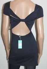 SHOWPONY Designer Navy Cut Out Back Bodycon Dress Size 10 BNWT #sZ95