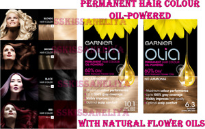 Garnier OLIA Permanent Hair Dye  Colour Cream Ammonia Free Different Shades