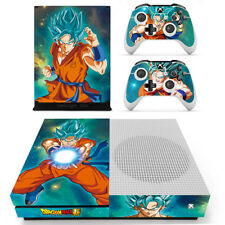 Xbox one S Anime Dragon Ball Z Goku Vinyl Skin Decals Stickers for Console Remo