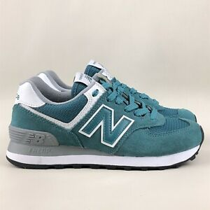 NEW BALANCE Classic 574 Teal (Blue - Green) Trainers US 5 | EUR 35 | UK 3