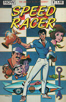 Speed Racer Vol 1 No 2 Oct 1987 NOW Comics September 1987 First Printing