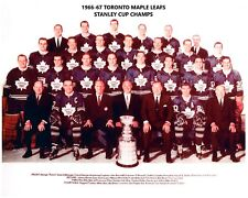 TORONTO MAPLE LEAFS 1966-67 TEAM 8X10 PHOTO HOCKEY PICTURE NHL