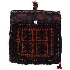 alte kleine Tasche Sumakh-Kelim  31x30 cm Sumach-Kilim bag Nomad Afghanistan