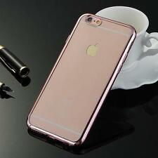 Mirror Case iPhone SE Cover Clear Thin Slim Apple Reflection + GLASS