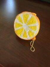 half lemon squishie with key chain
