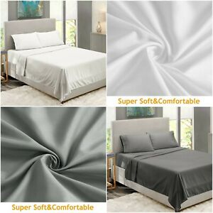 600 Thread Count Flat Sheet 100% Egyptian Cotton 600tc Hotel Quality Double King