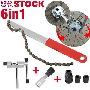 Bike Repair Kit Bicycle Removal Tool For Chain/Crank/Cassette/Freewheel Puller