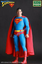 "Crazy Toy Dc Classic Superman 1/6th Action Figure 12"" PVC Statue Collection  New"