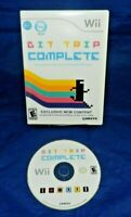 Bit Trip Complete, Nintendo Wii, VG, Rated E, Free Shipping