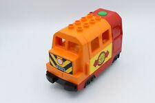 Lego Duplo Eisenbahn für E-LOK Diesellok Führerhaus Grün Rot Codestein Stein