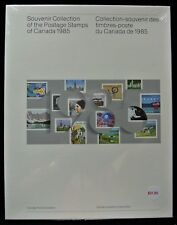 1985 SOUVENIR COLLECTION OF THE POSTAGE STAMPS OF CANADA  - FV $18.33 Sealed #28