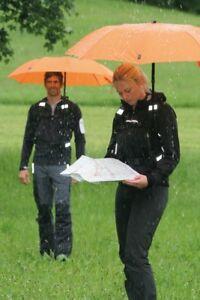 EuroSchirm Telescope Handsfree Umbrella Hiking Umbrella Orange