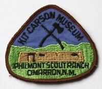 Boy Scout Patch Badge vintage Philmont Ranch Kit Carson Museum Cimarron NM
