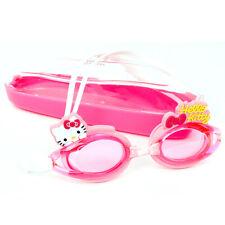 Hello Kitty Man Kids Swimming Goggles Pool Swim Glasses Children Anti Fog Girls