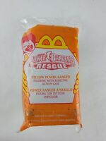 McDonald's Power Rangers Lightspeed Rescue #7 Yellow Ranger Rescue Burster MIP