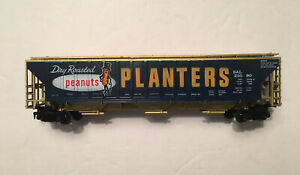 Vintage Ho Scale Tyco Billboard Planters Golden Covered 3 Bay Hopper #23090 Used