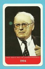 Roman Herzog President of Germany Cool Collector Card from Europe