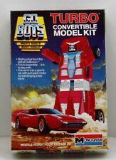 Turbo Convertible Model Kit 1984 Vintage GO BOTS MONOGRAM Tonka COMPLETE