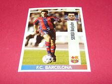 SERGI BARJUAN FC BARCELONA PANINI LIGA 96-97 ESPANA 1996-1997 FOOTBALL