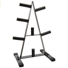 NEW CAP Barbell 2 in Olympic Plate Tree Rack Weight Holder Storage Organizer